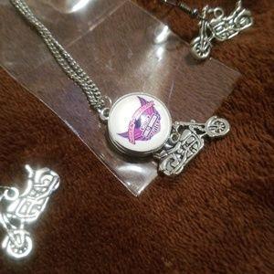 Harley Davidson necklace set